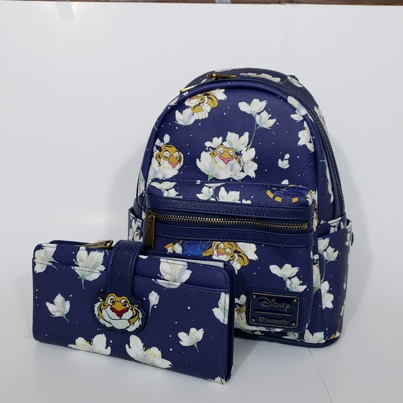 82e1d86a432 Loungefly Aladdin Raja Mini Backpack And Wallet